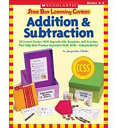 Shoe Box Learning Centers: Addition & Subtraction
