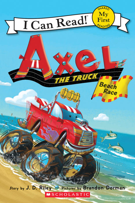 Axel the Truck-My First I Can Read!™: Beach Race