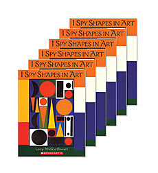 Guided Reading Set: Level F - I Spy Shapes in Art