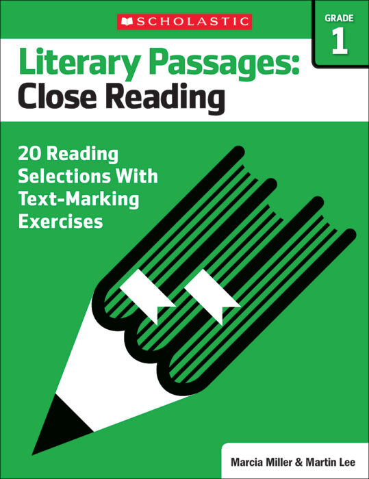 Literary Passages: Close Reading: Grade 1