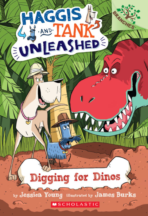 Branches - Haggis and Tank Unleashed: Digging for Dinos