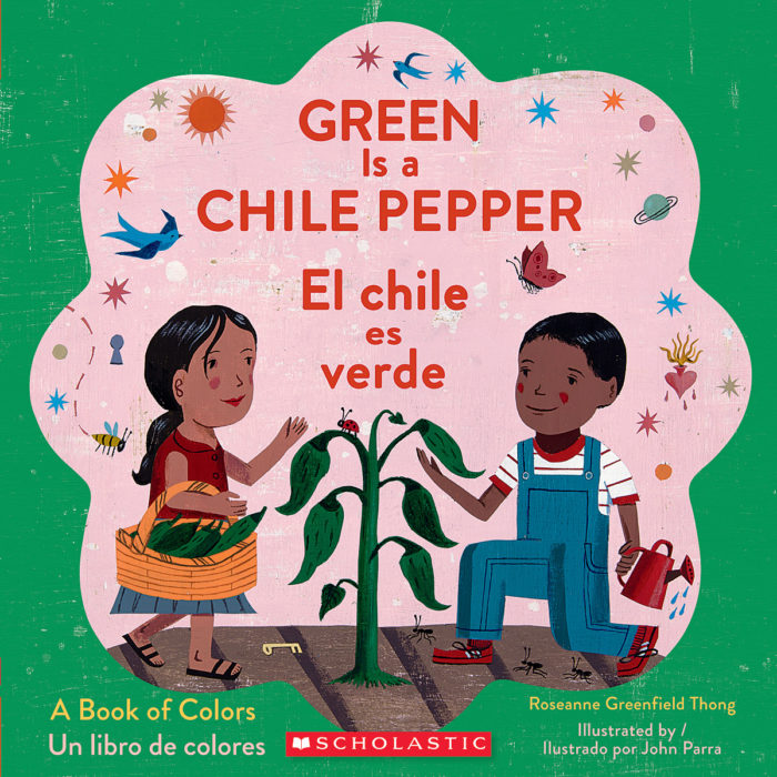 Green Is a Chile Pepper / El chile es verde