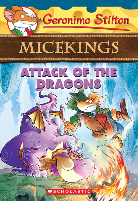 Geronimo Stilton-Micekings: Attack of the Dragons