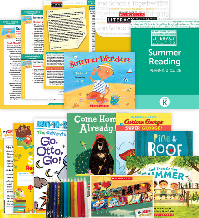 Comprehensive Summer Reading Solution Kindergarten Fiction (5 Books)