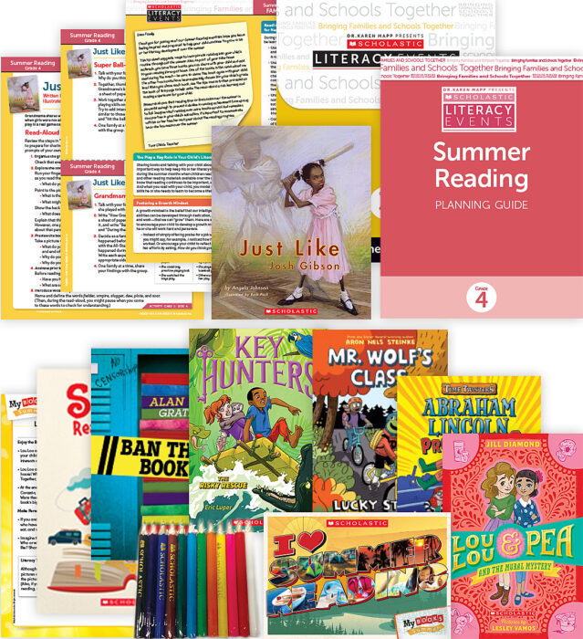 Comprehensive Summer Reading Solution Grade 4 Fiction (5 Books)