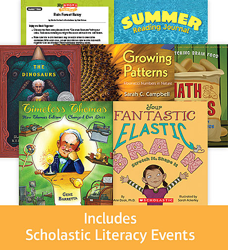 Comprehensive Summer Reading Solution Grade 4 STEM (5 Books)