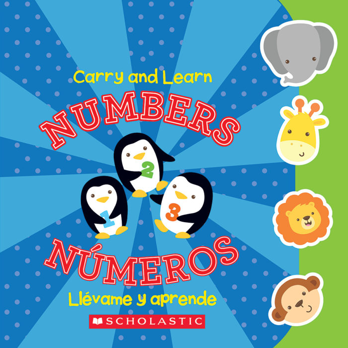 Carry and Learn Numbers / Llevame y aprende: Números