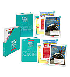 Guided Reading Short Reads & Lecturas Cortas Level U/W Bundle