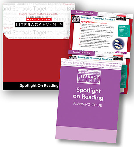 Scholastic Literacy Events Spotlight on Reading - Grade 1