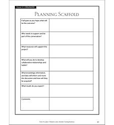 Planning Scaffold: Tools for Leaders