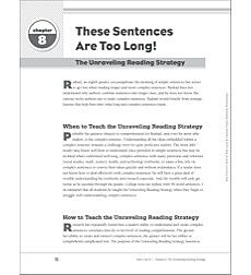 The Unraveling Reading Strategy for Struggling Readers