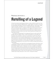 Retelling of a Legend: ELL Writing Activity