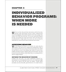Individualized Behavior Programs (When More Is Needed): All About ADHD
