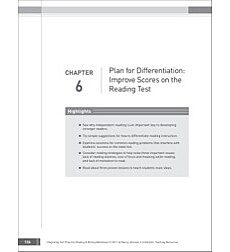 Plan for Differentiation - Reading Tests: Integrating Test Prep Into Reading Workshops