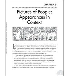 Pictures of People - Appearances in Context Writing Lesson