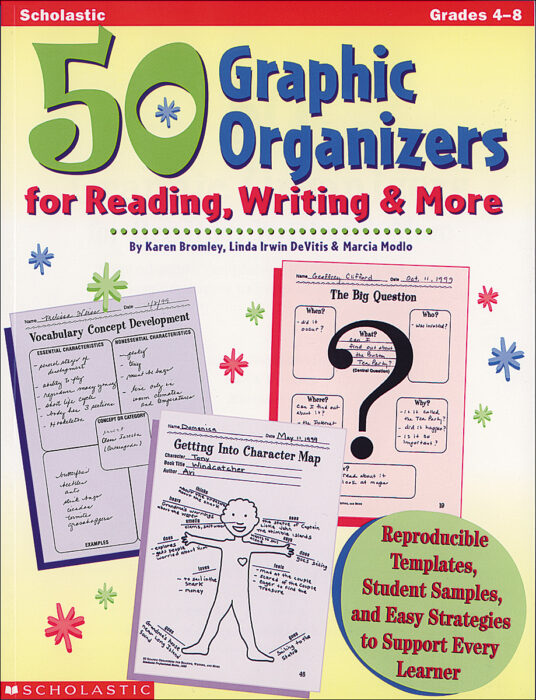 50 Graphic Organizers for Reading, Writing & More