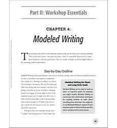 Modeling Writing: Quick Start to Writing Workshop Success