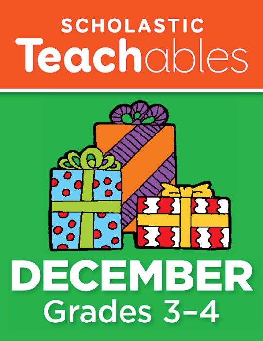 December Grades 3-4 Printable Packet