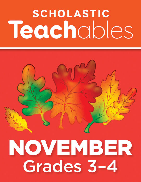 November Grades 3-4 Printable Packet
