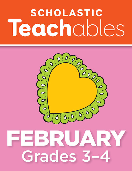 February Grades 3-4 Printable Packet
