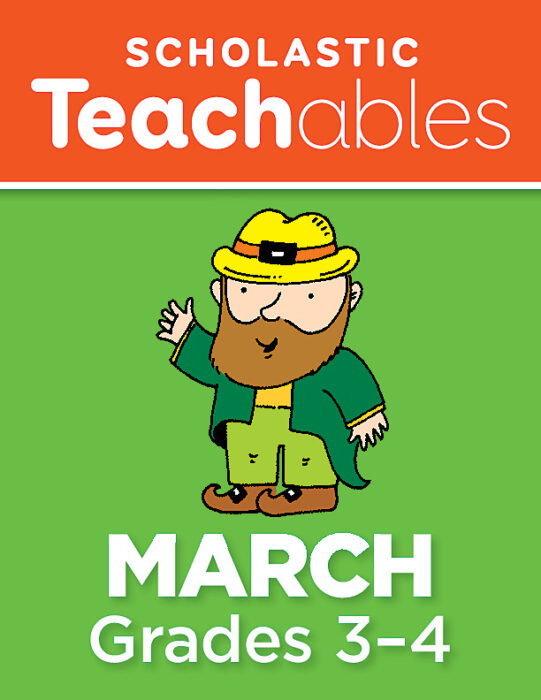 March Grades 3-4 Printable Packet