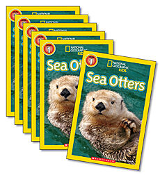 Guided Reading Set: Level I - Sea Otters