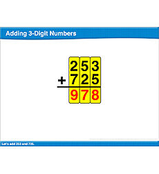 Adding 3-Digit Numbers: Math Lesson