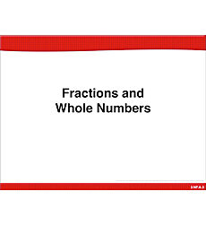 Fractions and Whole Numbers: Math Lesson
