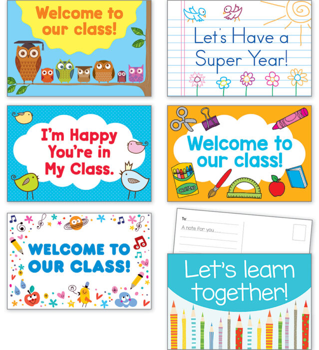 Back-to-School Postcards