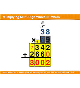 Multiplying Multi-Digit Whole Numbers: Math Lesson