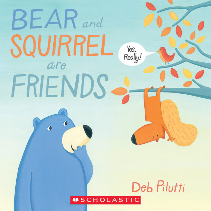 Bear and Squirrel are Friends