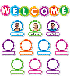 Color Your Classroom: Welcome Bulletin Board