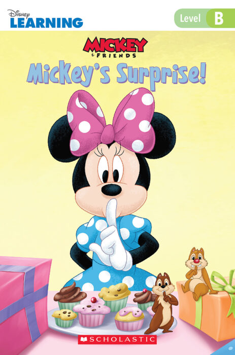 Mickey and Friends- Just-Right Leveled Readers- Level B: Mickey's Surprise!