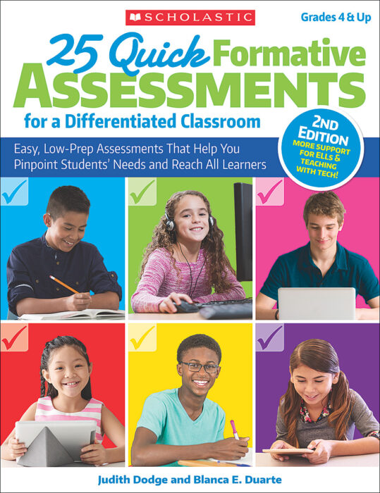 25 Quick Formative Assessments for a Differentiated Classroom, 2nd Edition