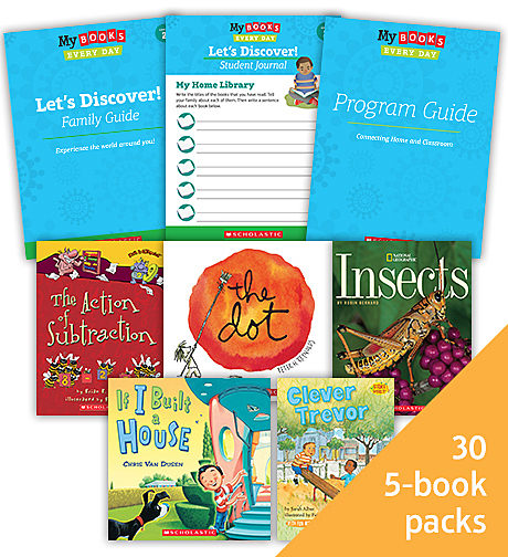 My Books Every Day Let's Discover! Grade 2 Classroom Set