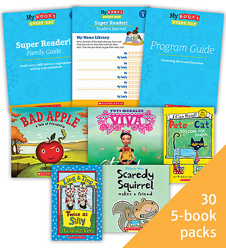 My Books Every Day Super Reader Grade 1 Classroom Set