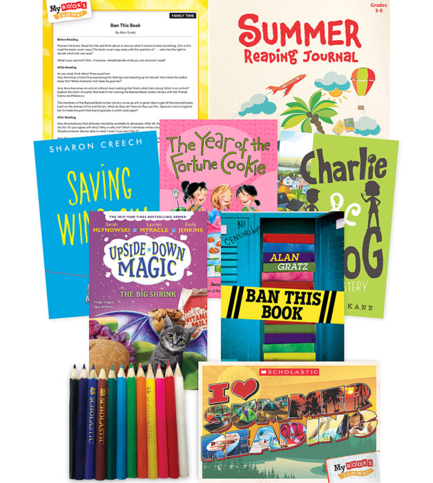 My Books Summer Grade 4 Fiction Pack