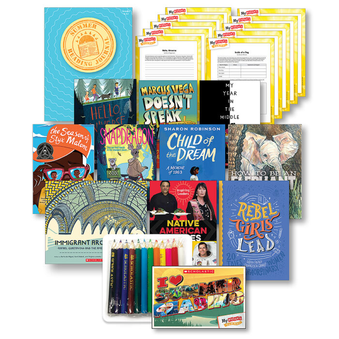 My Books Summer Grade 6 Fiction-Nonfiction Bundle
