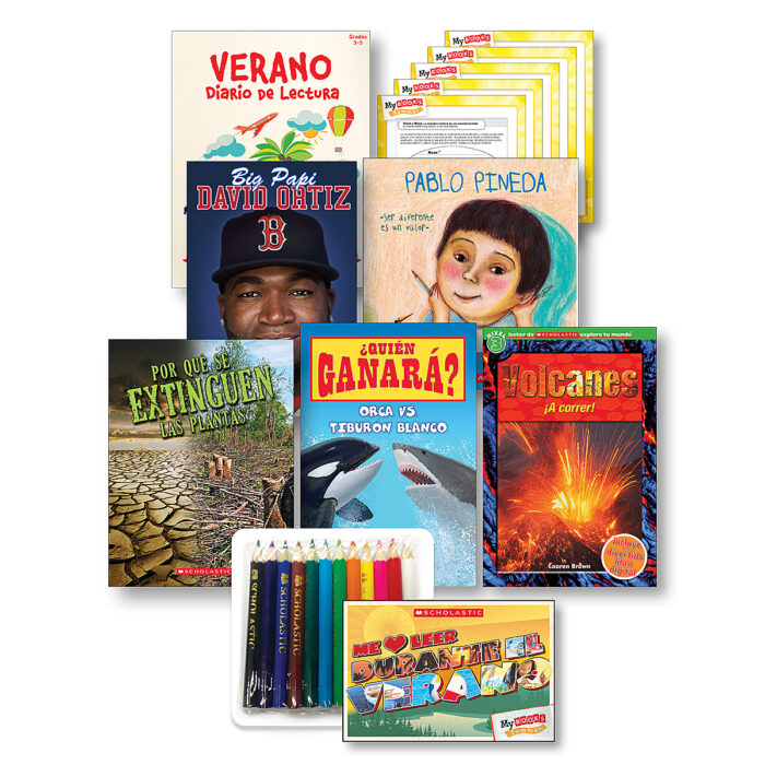 My Books Summer Spanish Grade 3 Nonfiction Pack