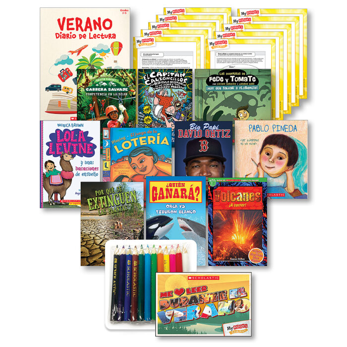 My Books Summer Spanish Grade 3 Fiction-Nonfiction Bundle