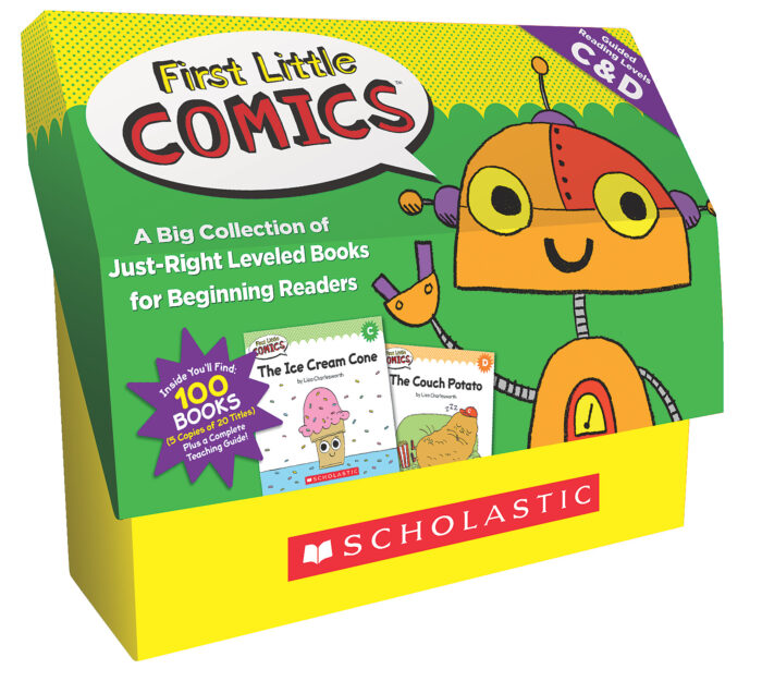 First Little Comics Classroom Set: Levels C & D