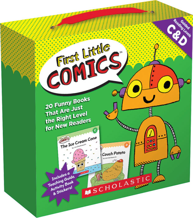 First Little Comics Parent Pack: Levels C & D