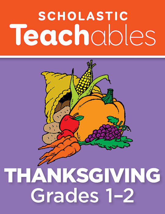 Thanksgiving Grades 1-2 Printable Packet