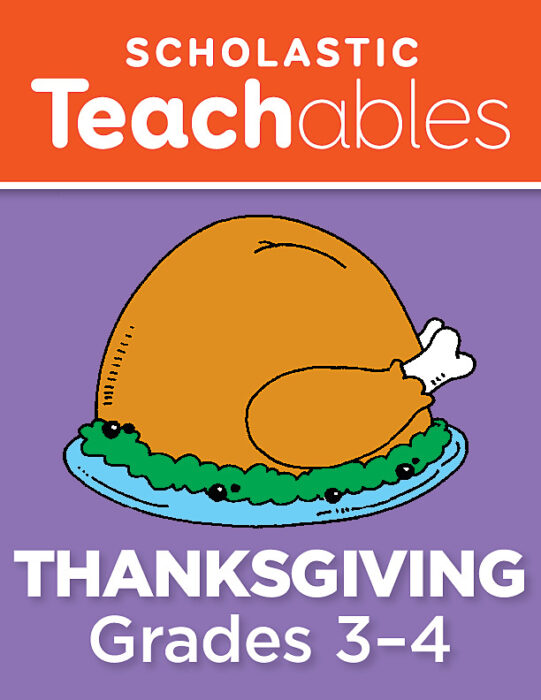 Thanksgiving Grades 3-4 Printable Packet