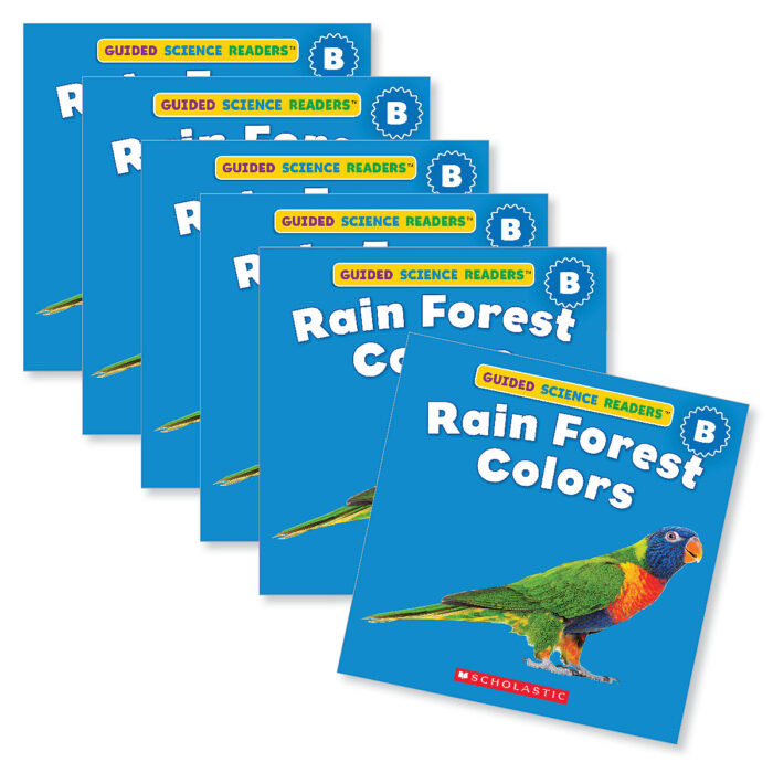 Guided Reading Set: Level B - Rain Forest Colors