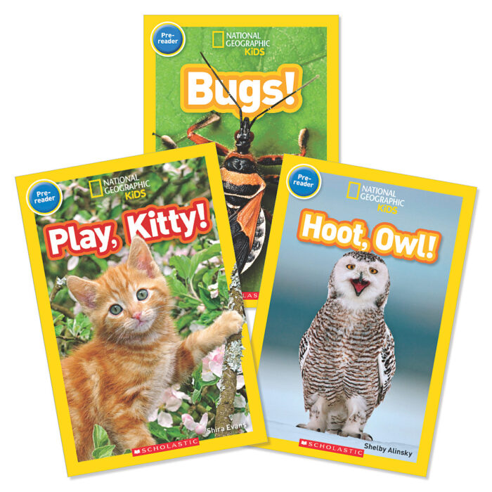 National Geographic Backyard Animals Grades PreK-1