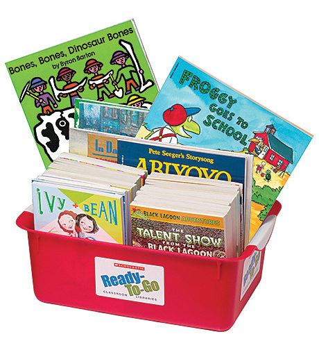 Ready-to-Go 750 Book Expanded Classroom Libraries Grade K