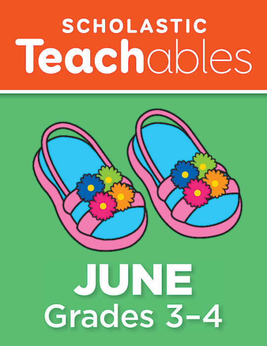June Grades 3-4 Printable Packet