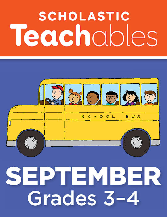 September Grades 3-4 Printable Packet