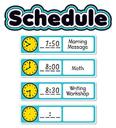 Aqua Oasis: Schedule Mini Bulletin Board